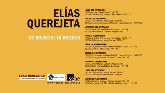 Homenaje a Elías Querejeta