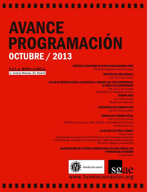 Avance octubre 2013