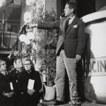 Luis García Berlanga en 1961 durante el rodaje de 'Plácido'
