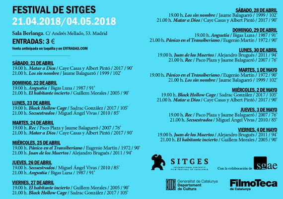Festival_Sitges_2018_cartelera