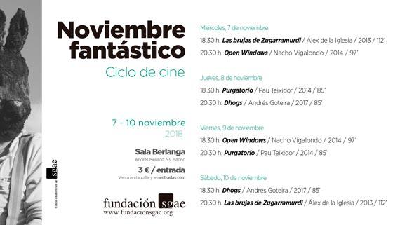 Noviembre_fantastico_2018_cartelera